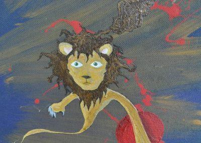dali's lion